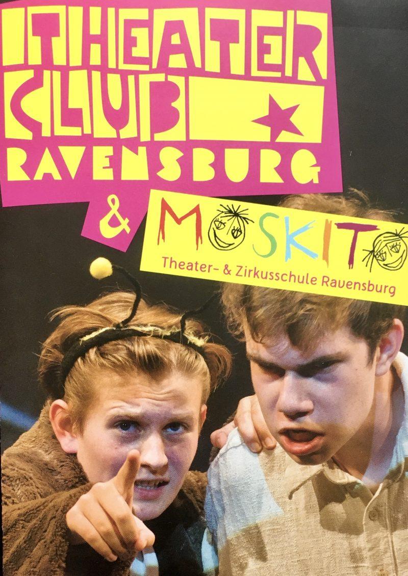 Start für die Anmeldung Theaterclub 1-3 & Moskito Zirkusschule